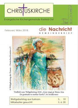 Gemeindebrief-Februar-2018