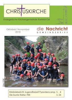 Christuskirche-Gemeindebrief-10-2018
